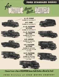 Ford Standard Bodies