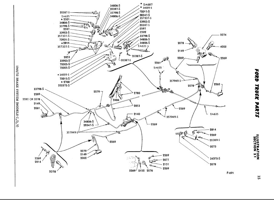 93 F150 Brake System Diagram http://www.ford-trucks.com/forums/1127205-need-help-with-brakes-on-48-f1.html