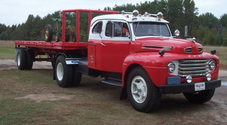 50 Ford F-8 with factory sleeper