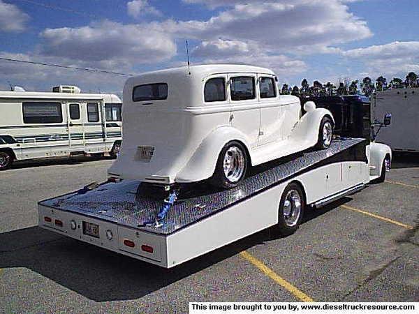 Ford COE Car Hauler